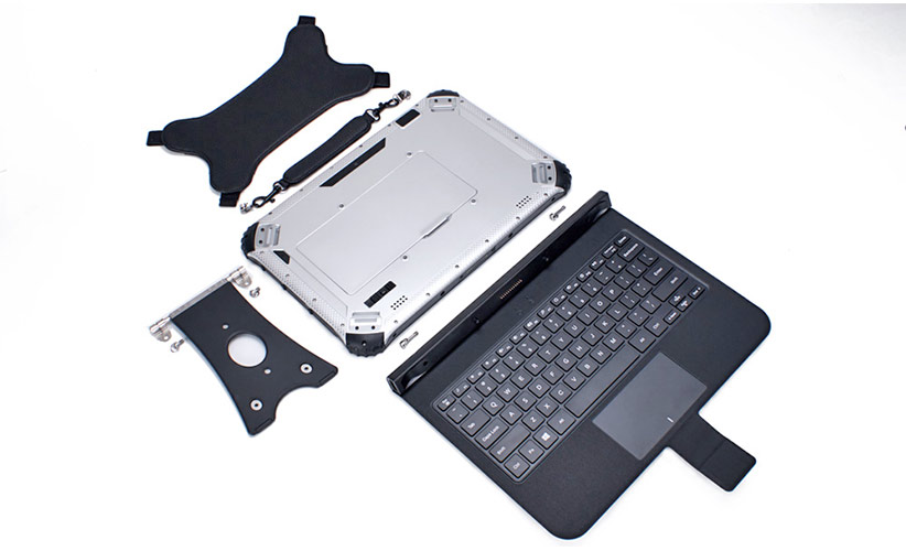 All components and the keyboard of the SCORPION 12-inch device