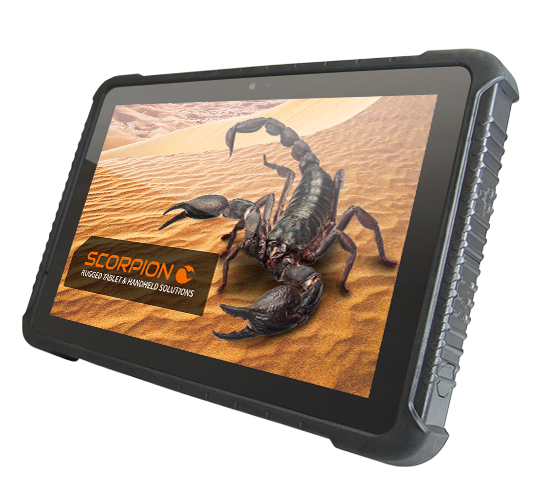 SCORPION 10 Zoll PLUS: Rugged Tablet PC