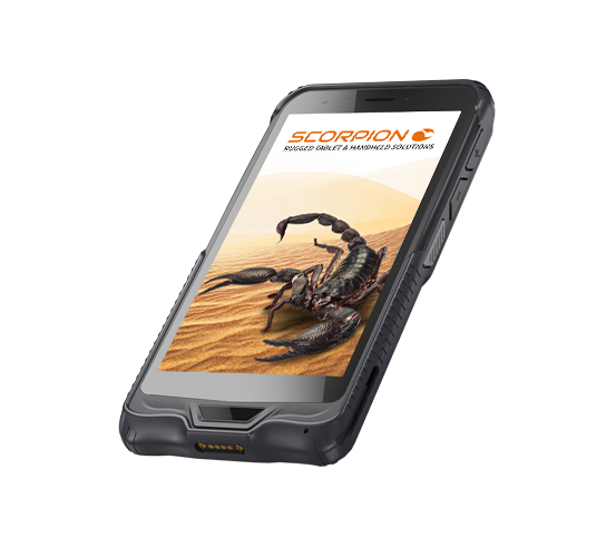 SCORPION 6 Zoll: Industrie Handheld