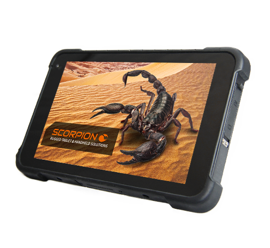 SCORPION 8 Zoll PLUS: Rugged tablet pc
